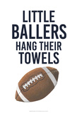 Little Ballers III Print by  Studio W