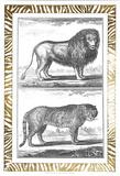 Gilded Safari IV Plakater af Denis Diderot