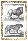 Gilded Safari IV Prints by Denis Diderot