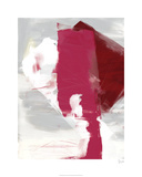 Magenta Abstract I Limited Edition by Sisa Jasper