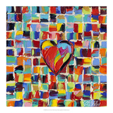 Love of Color I Art by Carolee Vitaletti