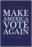 Make America VOTE Again - Navy Prints
