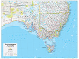 2014 Southeastern Australia - National Geographic Atlas of the World, 10th Edition Pôsters por  National Geographic Maps