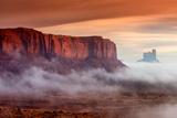 Sunrise View over the Monument Valley, Arizona, USA Photographic Print by Stefano Politi Markovina
