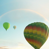 Balloons on Festival Photographic Print by  Kamchatka