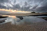 A View of Bamburgh Castle in Northumberland Photographic Print by Chris Button