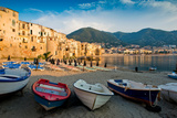 View of the Old Town. Cefalu, Sicily Stampa fotografica di James Lange