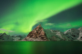 Aurora Borealis - Northern Lights Fill Sky Photographic Print by Cody Duncan