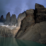 Torres Del Paine, Patagonia, Chile Photographic Print by Chris Cheadle