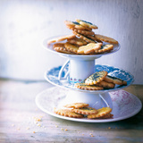Lemon Shortbread Cookies and Poppy Seed Shortbread Cookies Photographic Print by Inga Wandinger