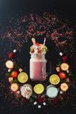 Milkshake Vignette Photographic Print by Dina Belenko