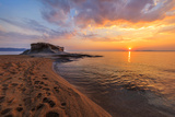 Ierissos-Kakoudia Beach, Greece Photographic Print by Stelian Porojnicu