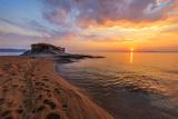 Ierissos-Kakoudia Beach, Greece Photographic Print by Stelian Porojnicu