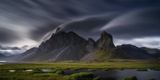 Mountain Landscape, Hvalsnes, Eastern Iceland Photographic Print by Ragnar Th Sigurdsson