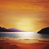 Cofete Fuerteventura Barlovento Beach at Canary Islands of Spain Photographic Print by Antonio Balaguer Soler