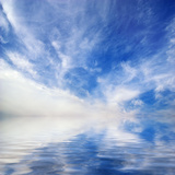 Beautiful Seascape Background. Element of Design Photographic Print by Oleh Honcharenko