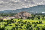The Ancient Pyramid of the Moon. the Second Largest Pyramid in Teotihuacan, Mexico Photographic Print by Felix Lipov