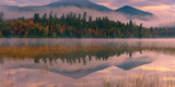 Connery Pond in Adirondacks State Park, Close to Lake Placid, Northern Part of New York State, USA Photographic Print by Henk Meijer Photography