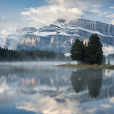 Two Jack Lake Shore Detail, Banff National Park, Alberta, Canada Photographic Print by Chris Cheadle
