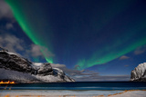 Aurora Borealis or Northern Lights Photographic Print by Juergen Ritterbach