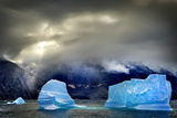 Arctic Sea Ice, Karrat Fjord, Greenland, Denmark Photographic Print by Chris Cheadle