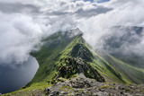 Striding Edge and Red Tarn Photographic Print by Chris Mcilreavy