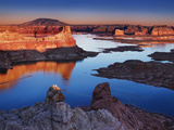 Alstrom Point at Sunset, Lake Powell, Utah, USA Photographic Print by Dmitry Pichugin