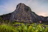 Big Buddha Pattaya Photographic Print by Emmanuel Charlat