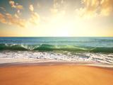 Sea Sunset Photographic Print by  Kamchatka