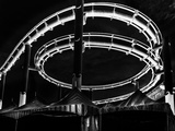 Amusement Park after Dark Photographic Print by Jason Moskowitz
