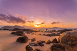 Sunrise from Rawai South Phuket Thailand Photographic Print by Remy Musser