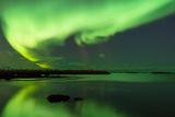 Northern Lights Near Eggum, Aurora Borealis, Eggum, Lofoten, Norway Photographic Print by Sonja Jordan