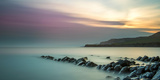 A View of Clavell's Pier in Kimmeridge Bay Photographic Print by Chris Button