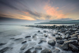 A View of Clavell's Pier Near Kimmeridge Photographic Print by Chris Button