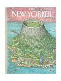 The New Yorker Cover - November 19, 1990 Regular Giclee Print by John O'brien