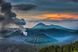 Mount Bromo Volcano, East Java, Indonesia Photographic Print by  Manish