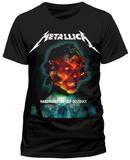 Metallica - Hardwired Album Cover T-Shirts