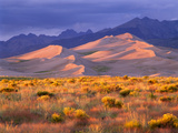 Great Sand Dunes National Park and Preserve, Colorado Photographic Print by George H.H. Huey