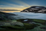 Foggy Landscape, Eyjafjordur, Northern Iceland Photographic Print by Ragnar Th Sigurdsson