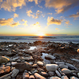 Beautiful Sunset at Atlantic Ocean. Tenerife, Canary Islands Photographic Print by Roman Sigaev