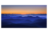 Misty Mountains Prints by David Bouscarle