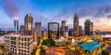 Charlotte, North Carolina, USA Uptown Skyline Panorama Photographic Print by Sean Pavone