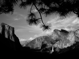 Yosemite National Park Looking from Tunnel View Towards El Capitan Half Dome Bridalveil Fall Photographic Print by Niall Mcdiarmid
