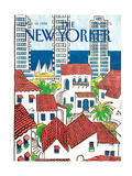The New Yorker Cover - March 14, 1988 Regular Giclee Print by Arthur Getz