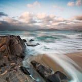 Water Rushing over Golden Sand Photographic Print by Tim Kahane
