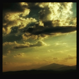 Sky and Hills at Sunset Photographic Print by Tim Kahane