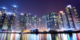 Residential High Rises in Busan, South Korea Photographic Print by Sean Pavone