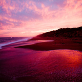 An Australian Sunset on a Beach Photographic Print by  Trigger Image