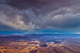 Storm Clouds at Green River Overlook, Canyonlands National Park, Utah, Island in the Sky District Photographic Print by Tom Till