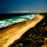 A Golden Beach in Australia Photographic Print by Tim Kahane